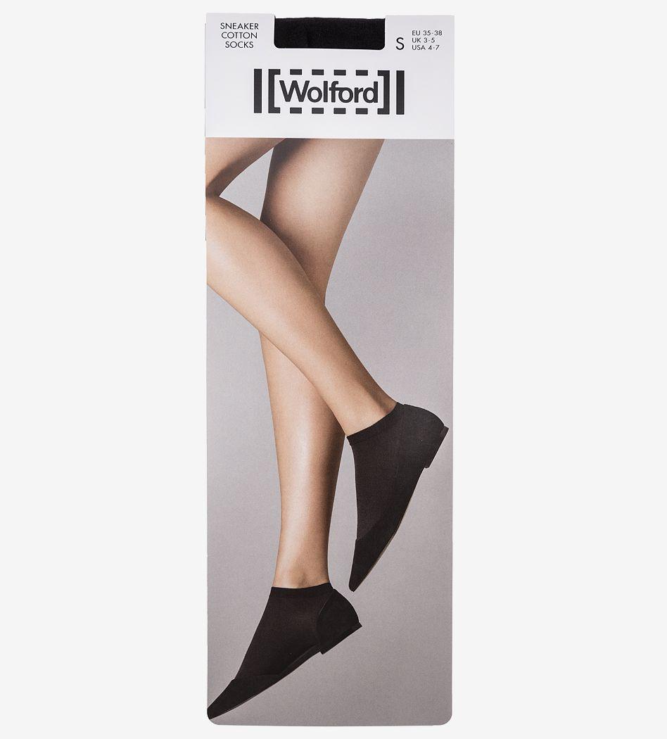 Носки Wolford 450187005 черный 35 фото