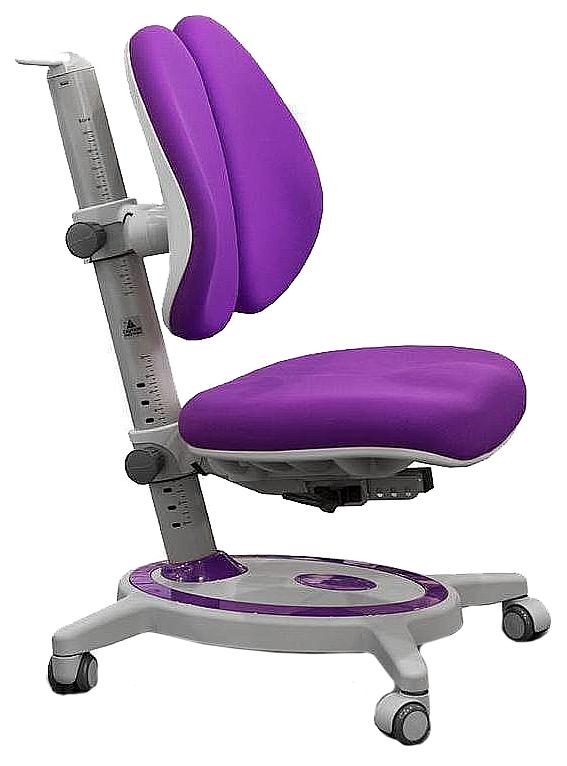 Купить Duo Kid Нейлон Фиолетовый Серый, Детское кресло для школьника Mealux Duo Kid (цвет обивки: фиолетовый, цвет каркаса: серый), Детские стульчики