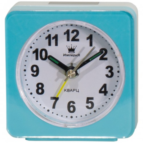 Часы будильник Империя Часы будильник настольные квадратные