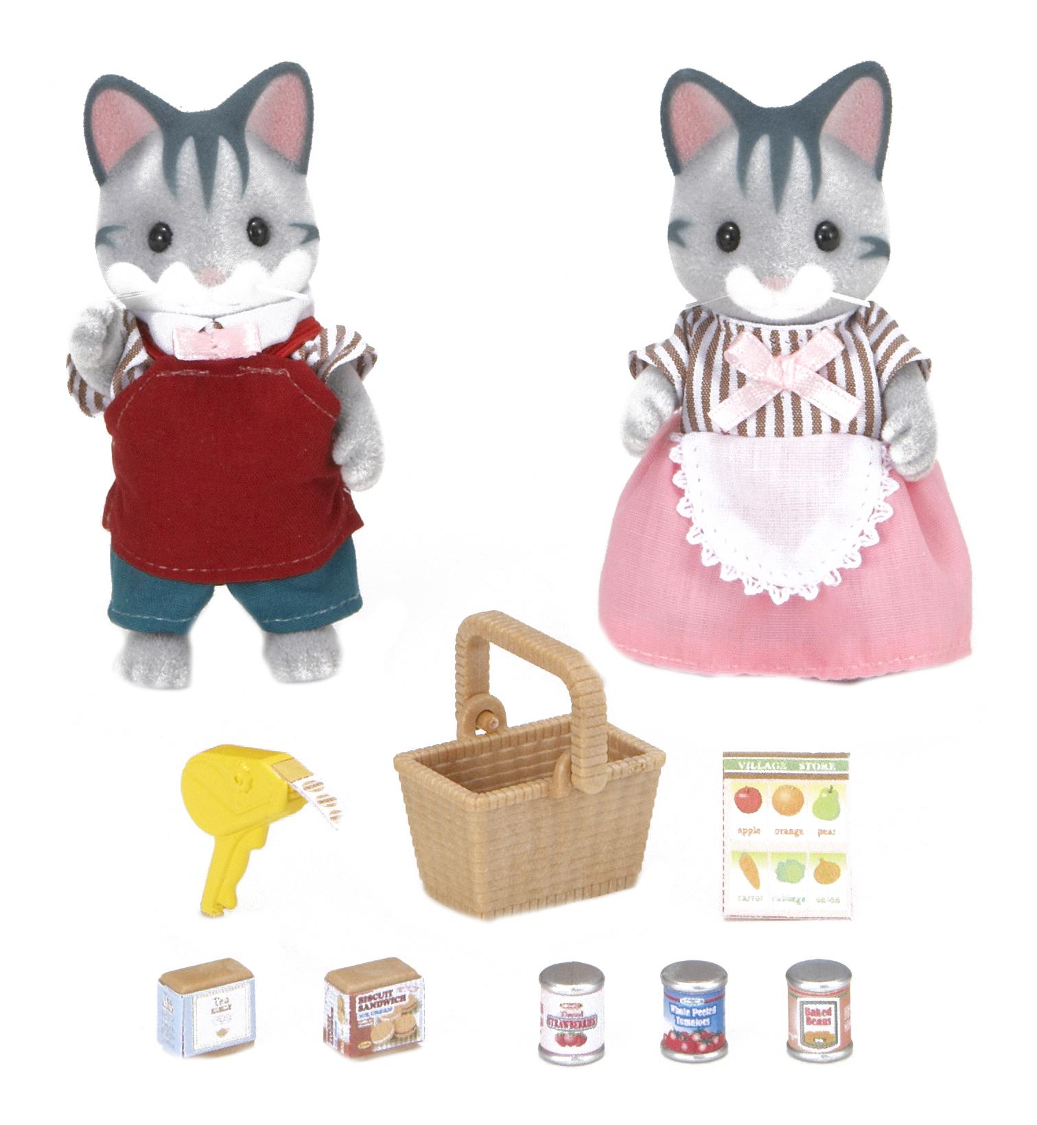 Купить Игровой набор sylvanian families владельцы супермаркета, Игровые наборы