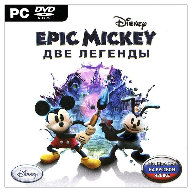 Игра Epic Mickey. Две легенды для PC фото