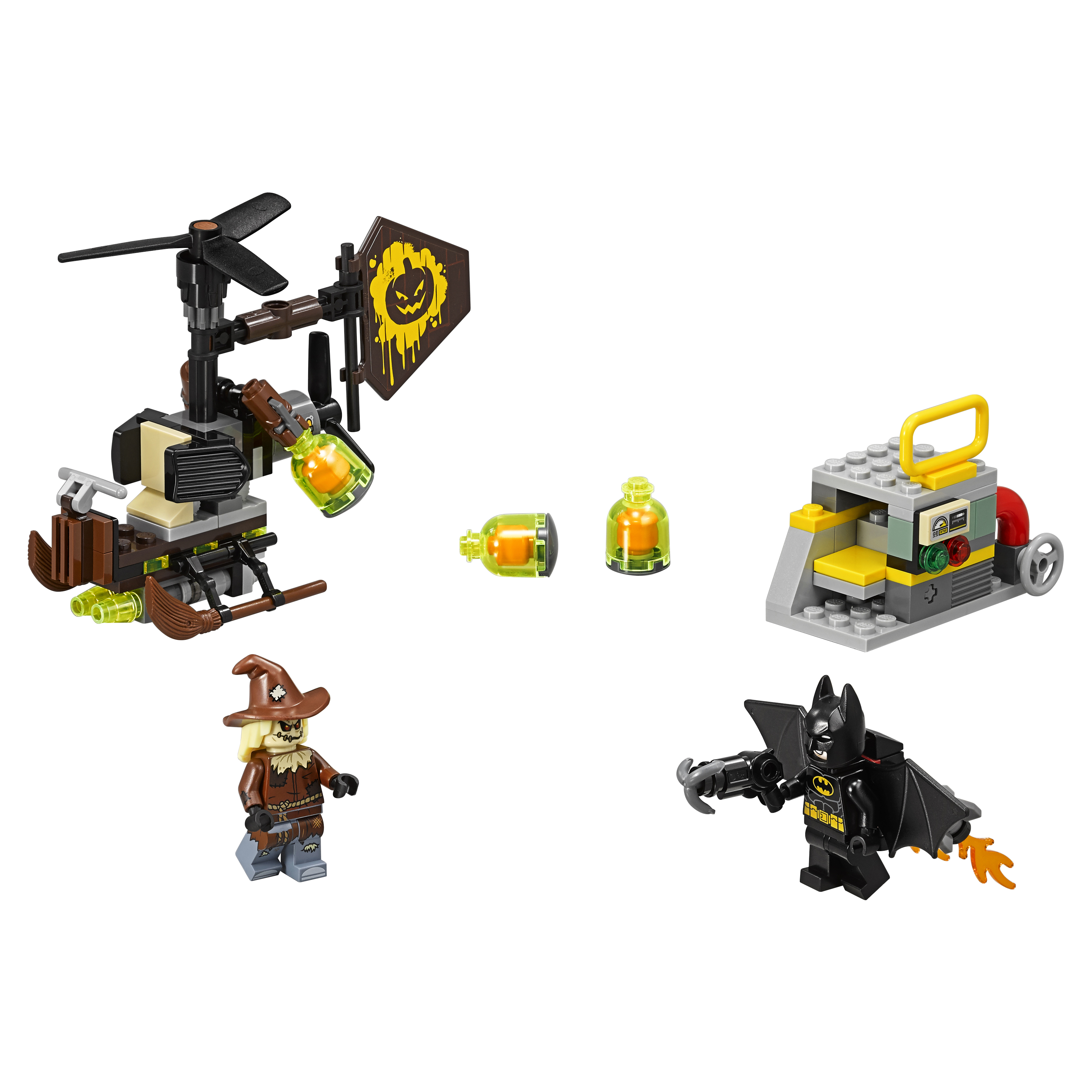 Конструктор LEGO Batman Movie Схватка с Пугалом