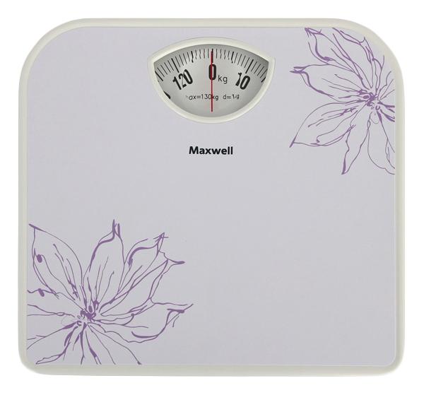 Весы напольные Maxwell MW 2656 W White