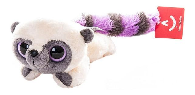 Мягкая игрушка Aurora Юху и его друзья 16-101 Юху фиолетовый лежачий, 16 см фото