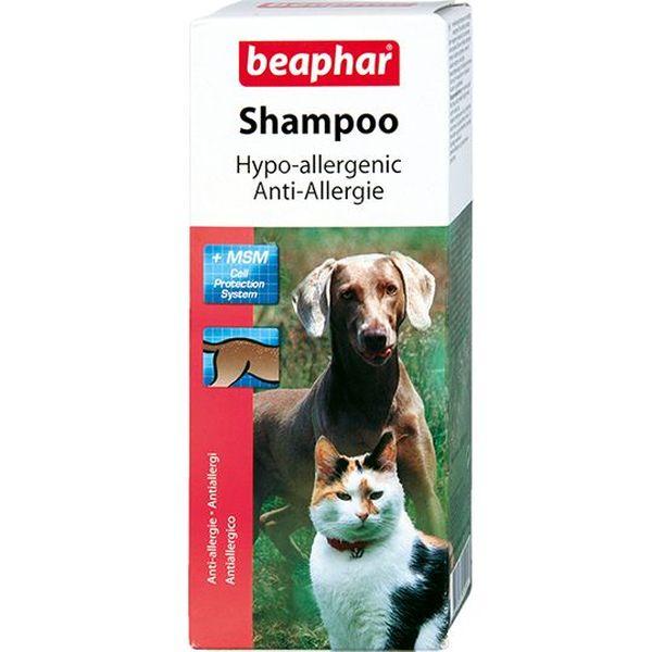 Шампунь для кошек и собак Beaphar Hypo-Allergenic против аллергии, 200 мл