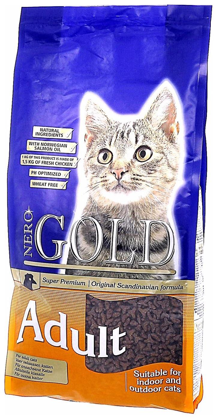 Сухой корм для кошек NERO GOLD Super