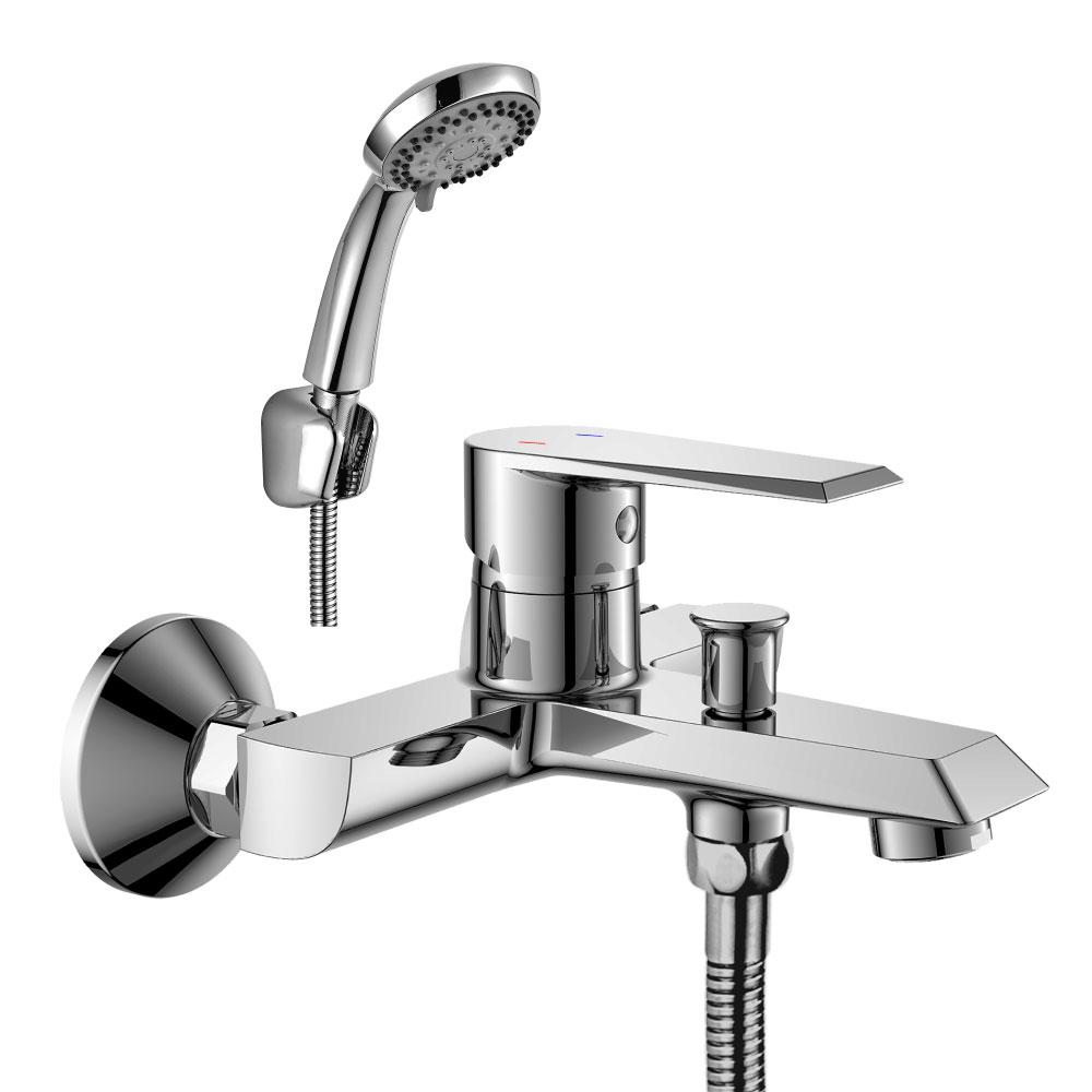 Смеситель для ванны Rossinka Silvermix RS28-31 хром фото