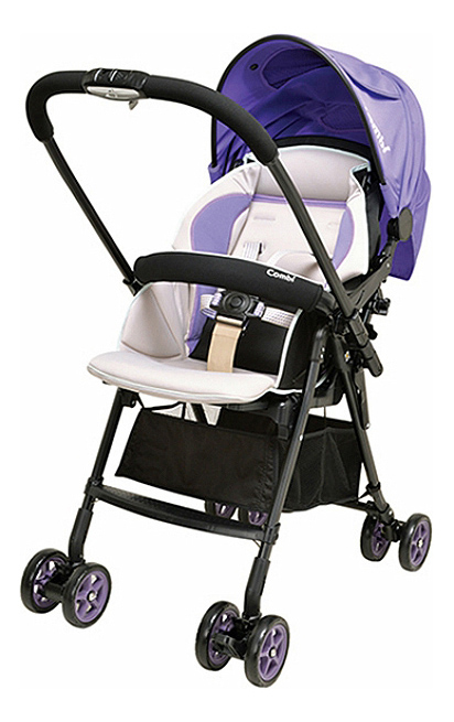 Купить Прогулочная коляска Combi Well Comfort пурпурная, Коляски книжки