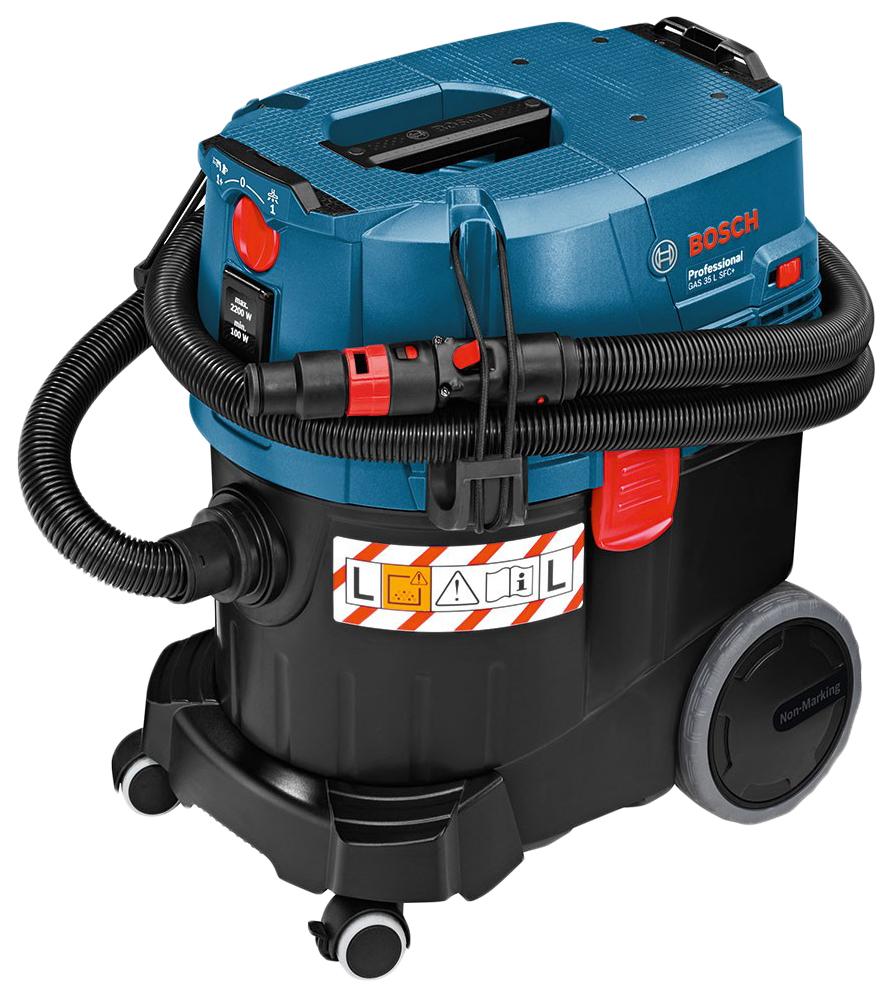 Пылесос строительный Bosch GAS 35 L SFC+ Professional 06019C3000