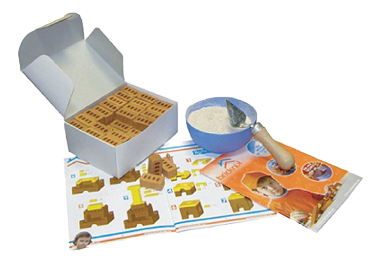 Конструктор керамический Brickmaster Родник 35 деталей.