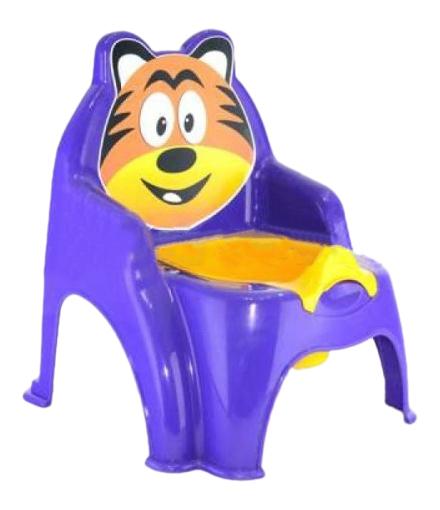 Горшок детский Doloni Тигра фиолетовый