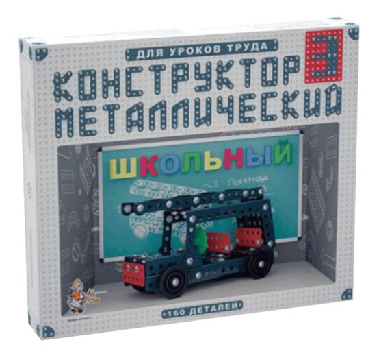 Конструктор металлический Десятое Королевство Школьный 3