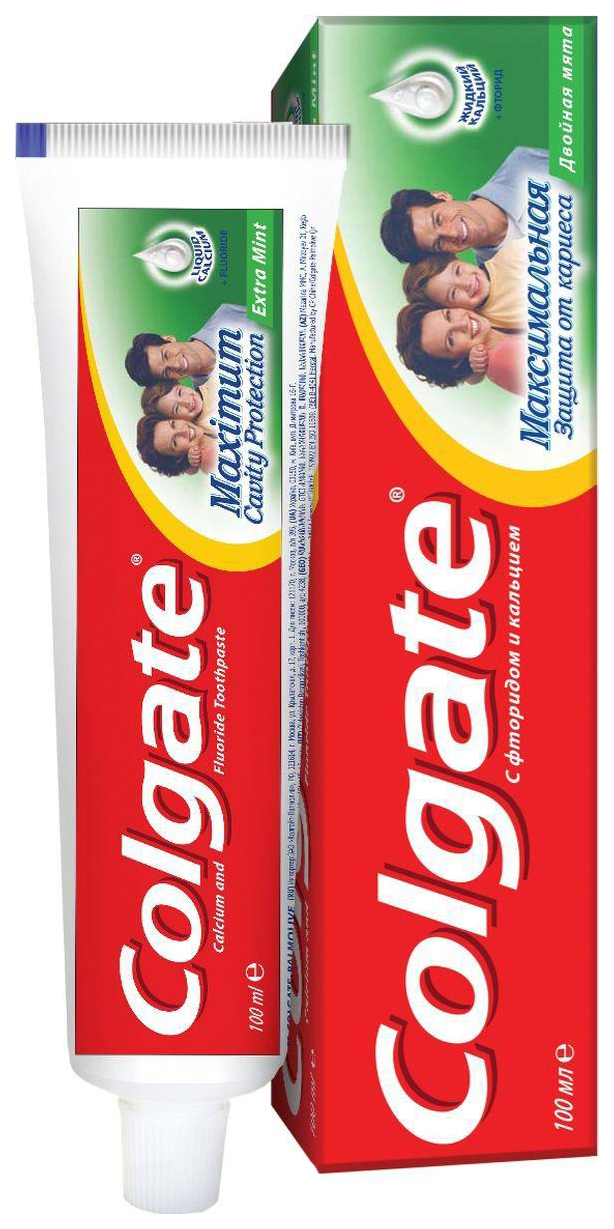 Зубная паста Colgate Максимальная Защита от Кариеса Двойная Мята 100 мл фото