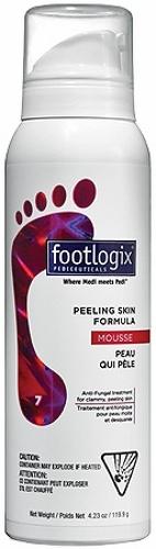 Купить Мусс очищающий для кожи между пальцев ног FOOTLOGIX Peeling Skin Formula, 120 мл