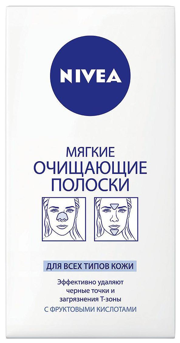 Средство для очищения NIVEA Полоски для Т-зоны лица 6 шт