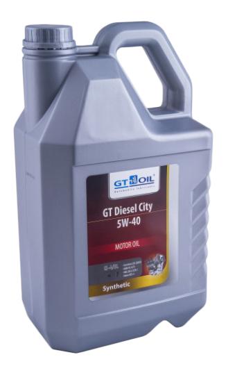 Моторное масло GT-Oil GT Diesel City 5W-40 6л фото
