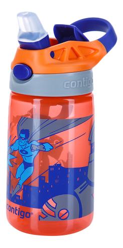 Купить 1000-0745, Детская бутылка для воды CONTIGO Gizmo Flip красный 420 мл,