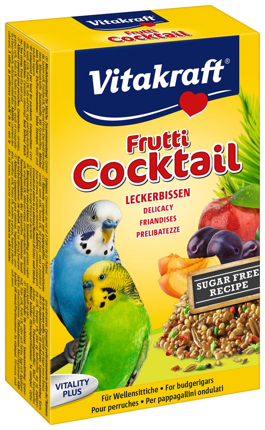 Основной корм Vitakraft для волнистых попугаев 200 г, 1 шт