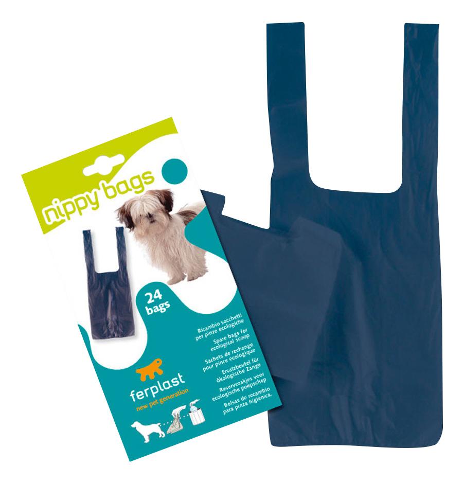 Запасные пакеты для совка Ferplast Nippy для уборки за собакой, 24 шт- обзор, преимущества, отзывы. Заказать товар для животных за 218 руб. Бренд Ferplast
