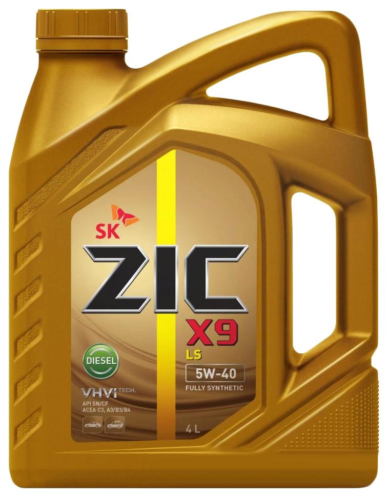 Моторное масло Zic X9 LS Diesel 5W-40 4л