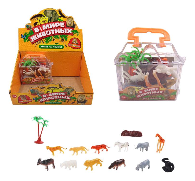 Купить В мире животных 10 шт., Игровой набор ABtoys В мире животных 10 шт., Игровые фигурки
