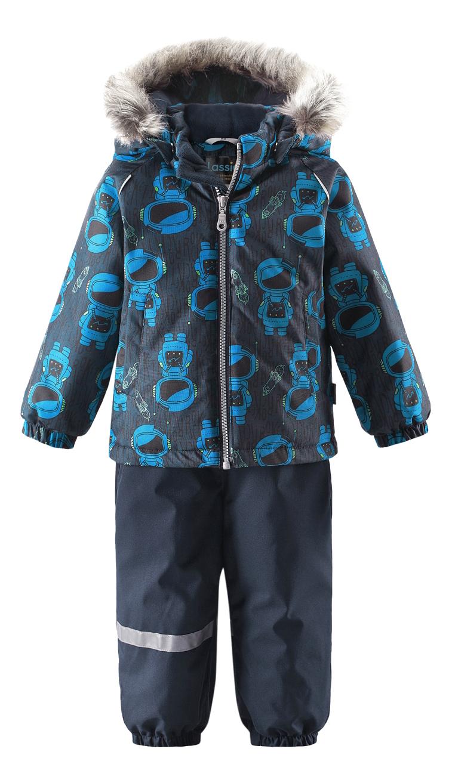 Комплект одежды Lassie зимний Космонавт синий р.80 фото