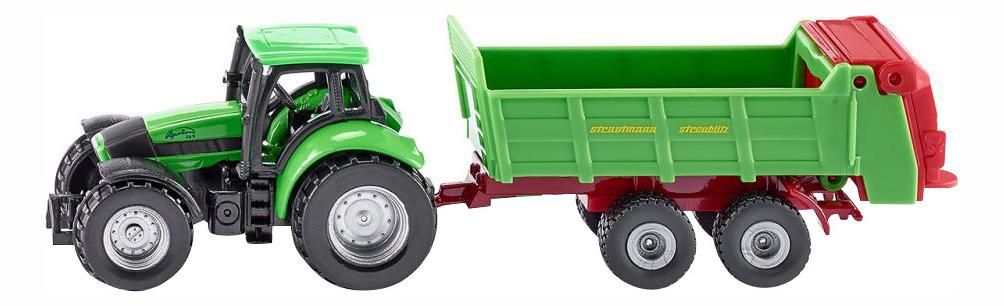 Коллекционная модель Siku Трактор с прицепом для удобрений фото