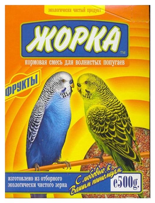 Основной корм Жорка для волнистых попугаев