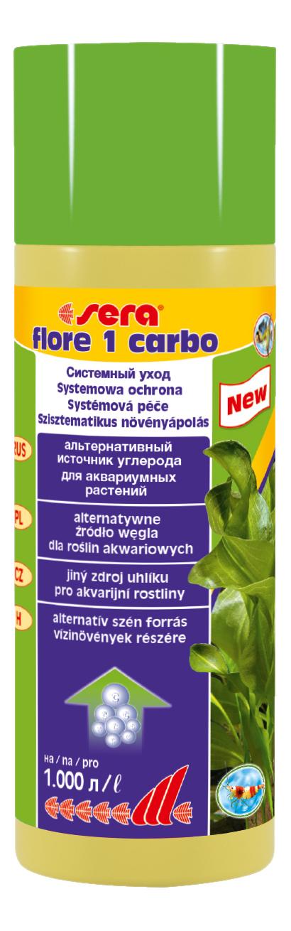 Средство для аквариумных растений sera FLORE 1 CARBO, 250 мл фото