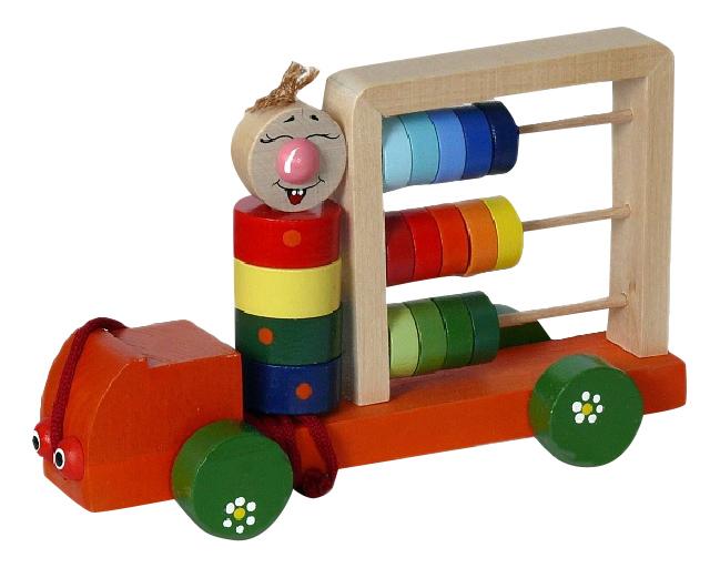 Средняя, Каталка детская Крона Автомобиль,  - купить со скидкой