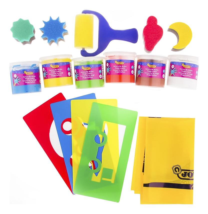 Набор красок и аксессуаров для рисования руками