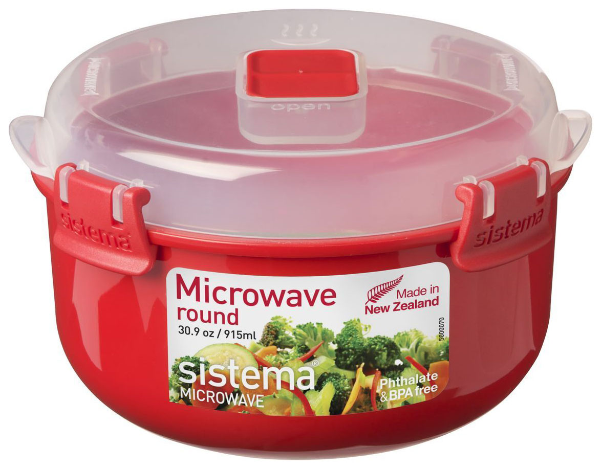 Контейнер Sistema Microwave 1113 Красный