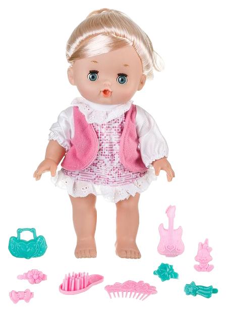 Купить Кукла Gratwest my baby с аксессуарами звук 26 см Д82954,