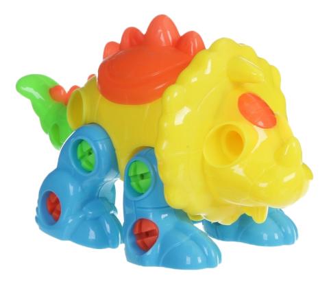 Купить Конструктор динозавр с отверткой Г54130, Конструктор Динозавр с отверткой Shenzhen Toys Г54130, Конструкторы пластмассовые