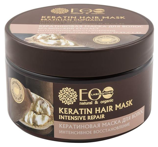 Купить Маска для волос Ecolab Интенсивное восстановление 250 мл, EO LABORATORIE