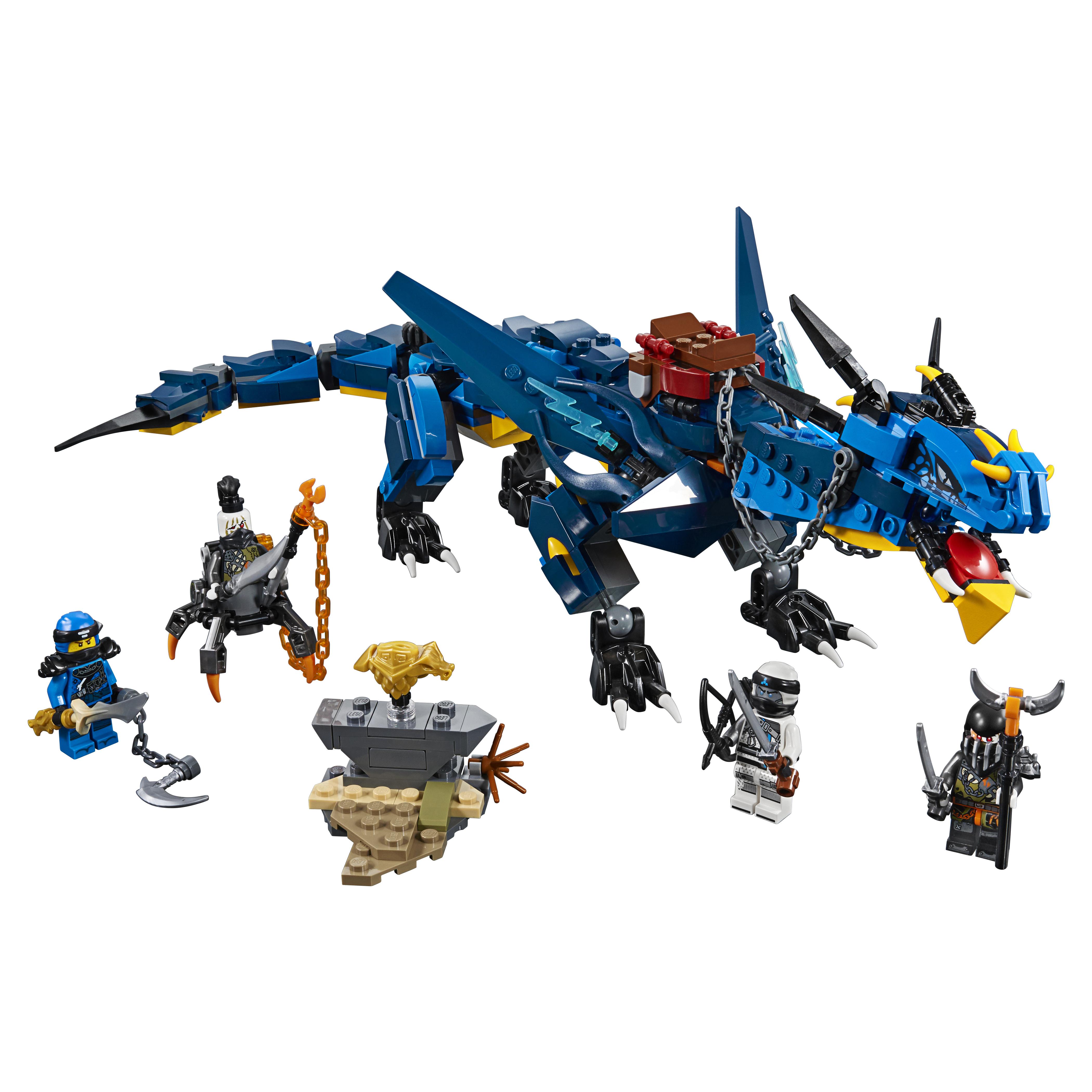 Конструктор LEGO Ninjago Вестник бури 70652 LEGO