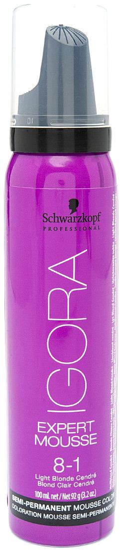 Купить Мусс для волос Schwarzkopf Professional Тонирующий мусс 8-1