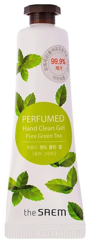 Купить Крем для рук The Saem Perfumed Hand Clean Gel Pure Green tea 30 мл
