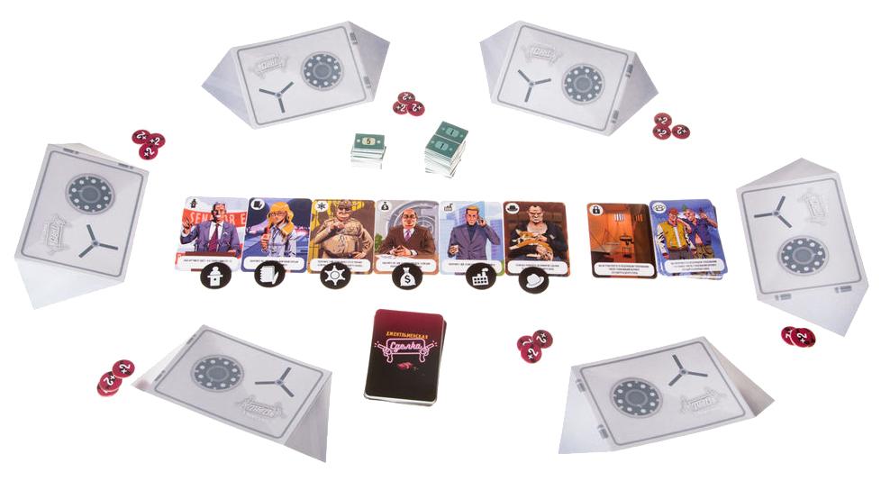 Купить Семейная настольная игра PlayLand Джентльменская сделка, Gaga Games, Семейные настольные игры