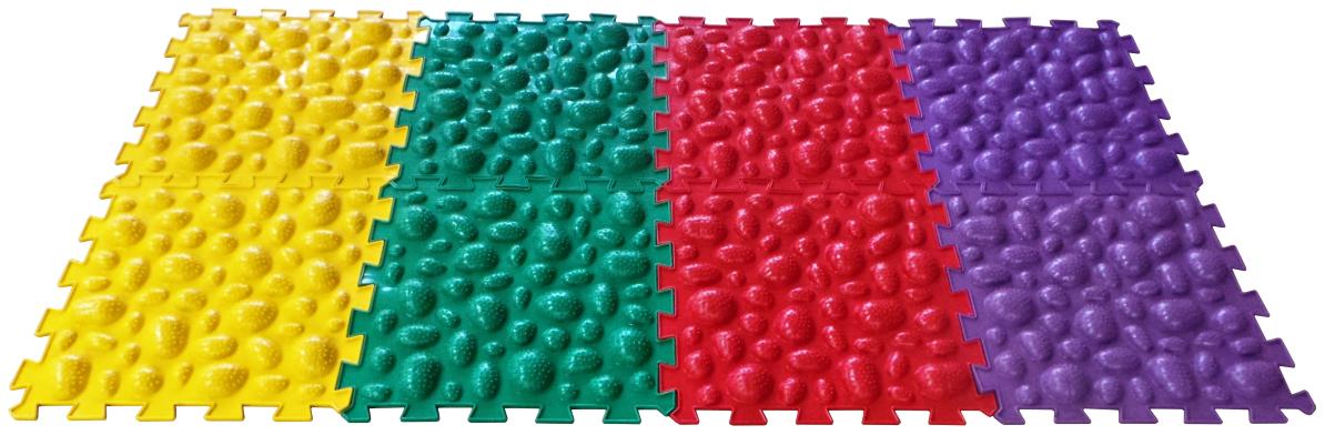 Купить Развивающий коврик Ортоковрик-пазл Микс Морские Камни, Развивающие коврики и центры