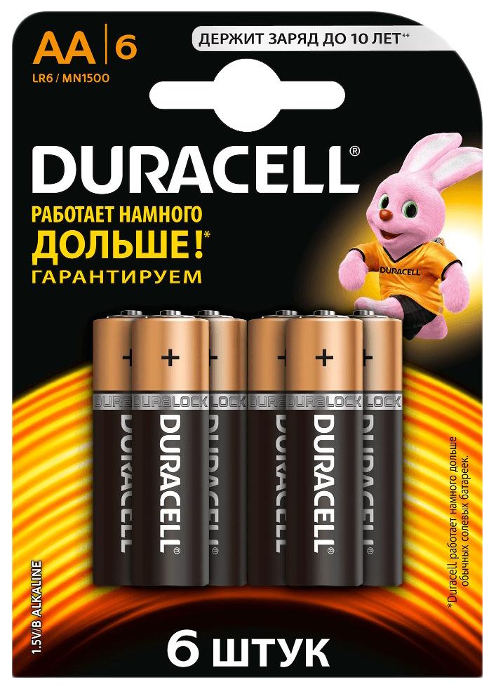 Батарейка Duracell Basic LR6 6 шт