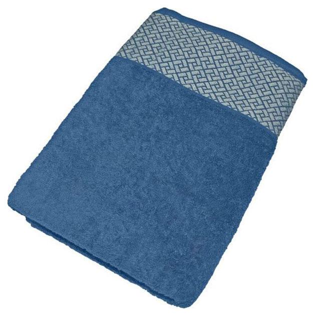 Банное полотенце Aisha синий