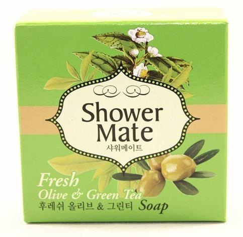 Купить Мыло косметическое Shower Mate Оливковое 100г