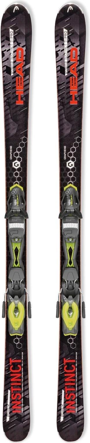 Горные лыжи Head Power Instinct SW
