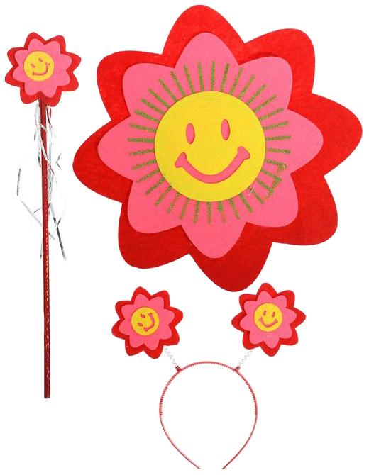 Карнавальный набор Улыбчивый цветок,