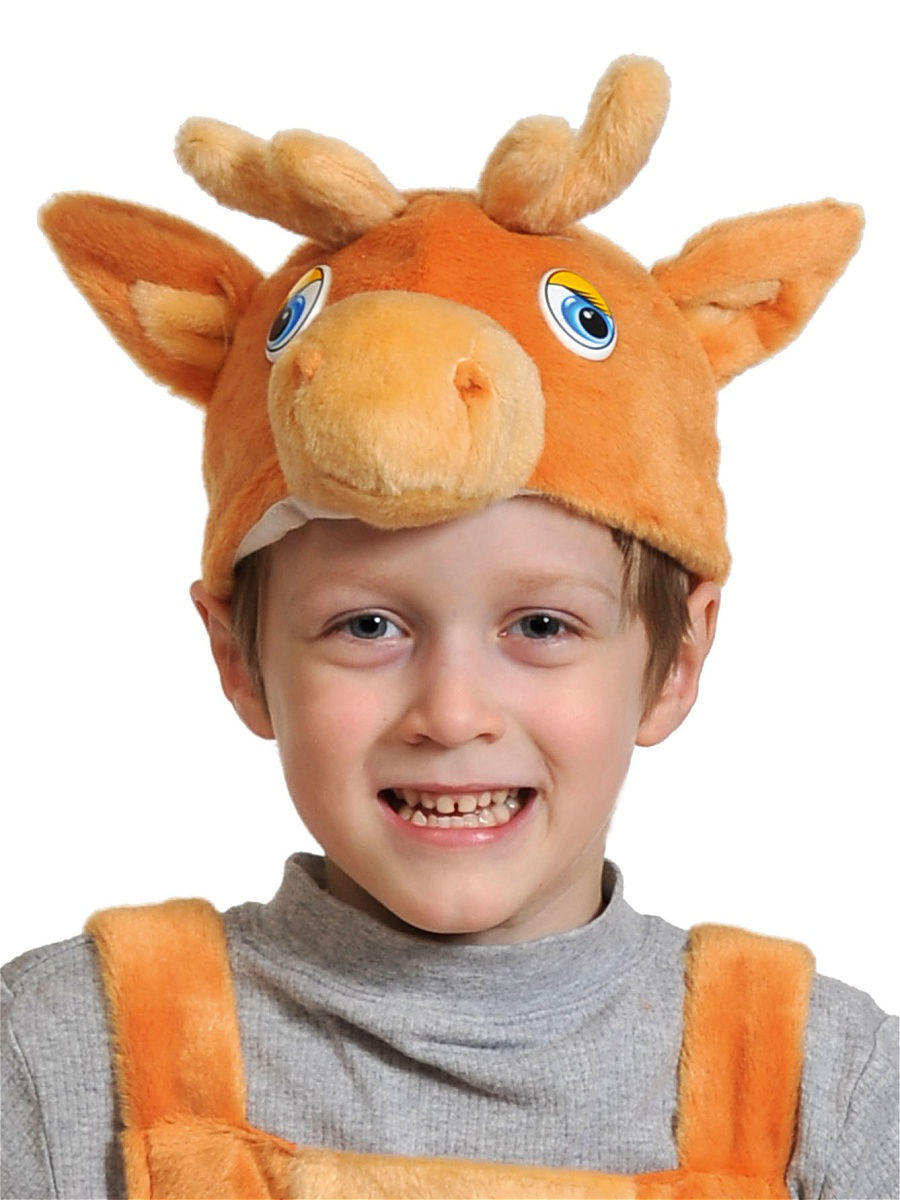 Карнавальная маска шапка