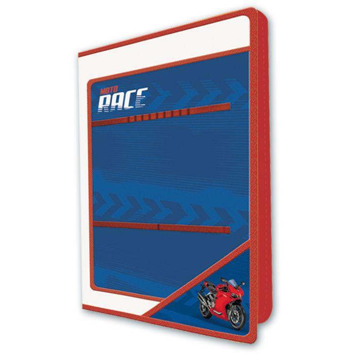 Папка для уроков труда Феникс+ Красный мотоцикл арт.43645/12 пластиковая