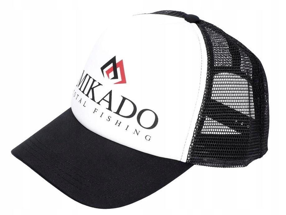Бейсболка Mikado UM UB020, черная, One Size