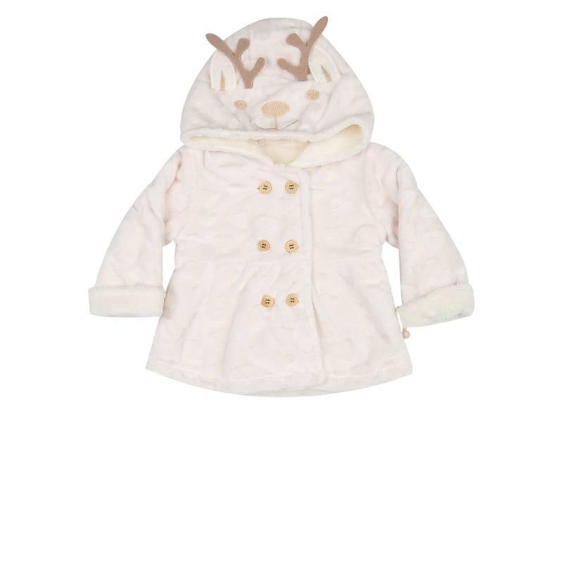 Купить 79002, Куртка BIBABY, цв. бежевый, 74 р-р, Куртки для девочек