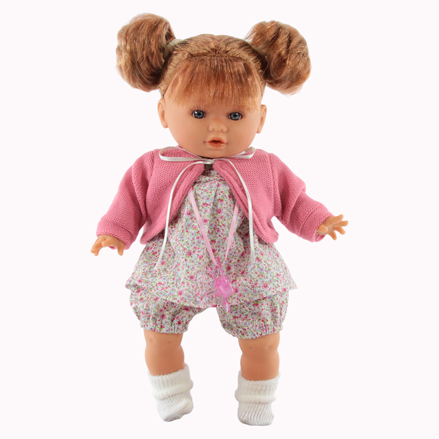 Кукла Antonio Juan Монси в розовом плачет
